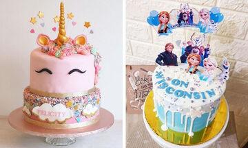Αυτά είναι τα πιο δημοφιλή σχέδια για παιδικές τούρτες (pics)