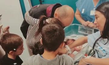 Ολυμπία Χοψονίδου: Δε φαντάζεστε τι έκανε με τα παιδιά της λίγο πριν το τοκετό (pics)