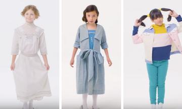 Δείτε πόσο άλλαξαν τα παιδικά κοριτσίστικα ρούχα τα τελευταία 100 χρόνια (vid)