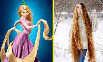 Δέκα γυναίκες που θυμίζουν τη Ραπουνζέλ - Τα μαλλιά τους είναι εντυπωσιακά μακριά (vid)