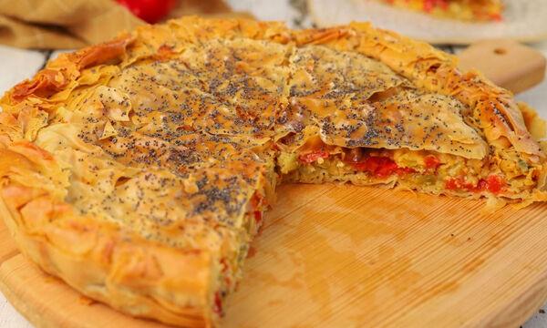 Συνταγή για λαχταριστή πιπερόπιτα