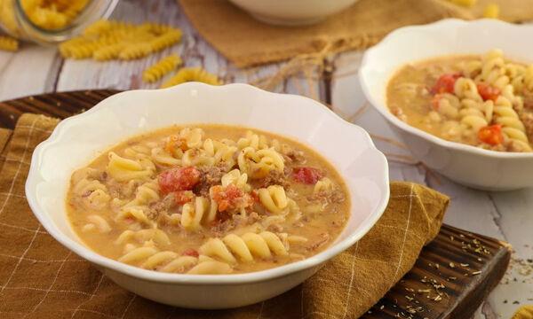 Σούπα με κιμά και βίδες - Μία ιδιαίτερη, χειμωνιάτικη συνταγή