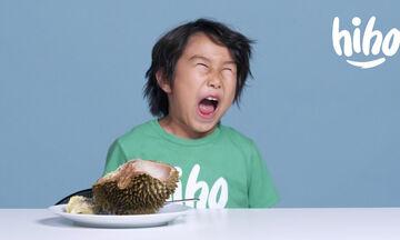 Παιδιά δοκιμάζουν εξωτικά φρούτα και οι αντιδράσεις τους είναι ξεκαρδιστικές (vid)