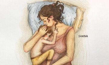 Στιγμές της μητρότητας μέσα από υπέροχα σκίτσα (pics)