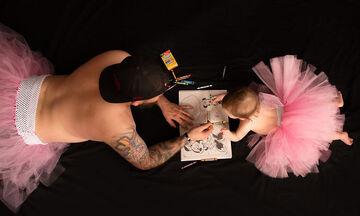 Μπαμπάς και κόρη φοράνε τουτού & γίνονται viral (pics)