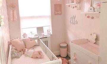 Μικρό βρεφικό δωμάτιο: Προτάσεις για να φτιάξετε το δωμάτιο της κόρης σας (pics)