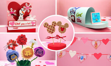 Πέντε χειροτεχνίες για παιδιά εμπνευσμένες από την Disney για την Ημέρα του Αγίου Βαλεντίνου (vid)