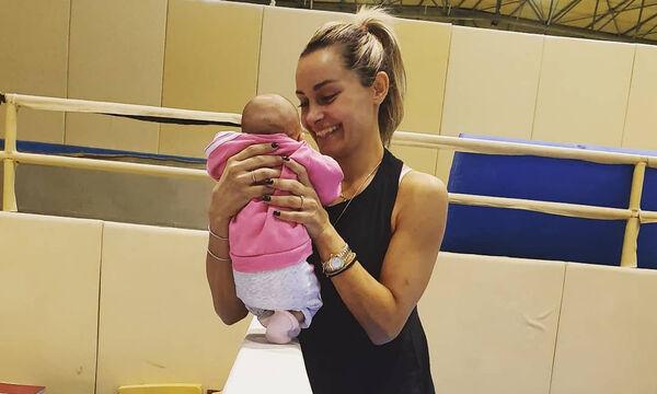 Βασιλική Μιλλούση:Η κόρη της έγινε 3 μηνών - Η φώτο από το παιδικό δωμάτιο και το τρυφερό της μήνυμα