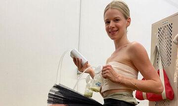Μπαλαρίνα αντλεί γάλα από το στήθος και εξομολογείται: «Ακόμα προσπαθώ…»