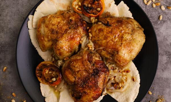Κοτόπουλο zaatar - Δείτε πώς θα το φτιάξετε