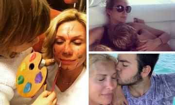 Οι πιο τρυφερές στιγμές διάσημων Ελληνίδων μαμάδων με τα παιδιά τους (pics)