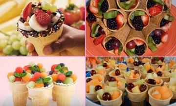 Μπουφές σε παιδικό πάρτι: Ιδέες για εύκολα και νόστιμα σνακ (vid+pics)