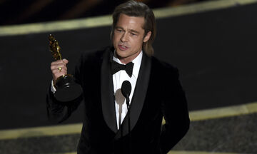 Brad Pitt: Αφιέρωσε το Όσκαρ στα παιδιά του και συγκίνησε με το σχόλιο που έκανε (vid)