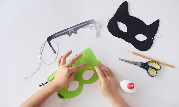 Απόκριες 2020: Δείτε πώς θα φτιάξετε χειροποίητες μάσκες από τσόχα (vid)
