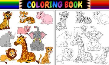 Ζωγραφική με ζώα: Πώς να ζωγραφίσετε ζωάκια της ζούγκλας (pics+vid)