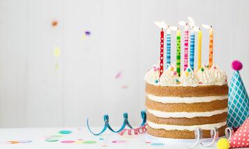 Πανεύκολη τούρτα γενεθλίων που μπορείτε να φτιάξετε για να κεράσει το παιδί σας στο σχολείο
