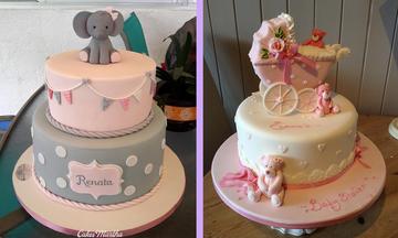 Baby Shower πάρτι: 10 εντυπωσιακές τούρτες για κοριτσάκι που πρέπει να δείτε (pics)