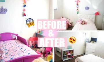 Παιδικό δωμάτιο: Οι αλλαγές που μπορείτε να κάνετε χωρίς να ξοδευτείτε (vid)