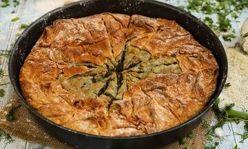 Δείτε πώς μπορείτε να φτιάξετε κι εσείς σεφουκλωτή πίτα Νάξου