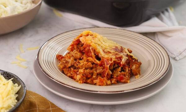 Τι να μαγειρέψετε σήμερα; Λαχανόρυζο με κιμά στο φούρνο