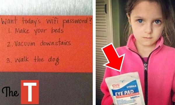 Όταν οι γονείς εκνευρίζουν τα παιδιά με το χιούμορ τους (vid)