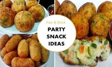 Ετοιμάζετε παιδικό πάρτι; Τρία σνακ με πατάτα που δεν πρέπει να λείπουν από τον μπουφέ (vid)