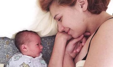 Πέννυ Μπαλτατζή: Αυτές τις φωτογραφίες με τον 5 μηνών γιο της πρέπει να τις δεις (pics)