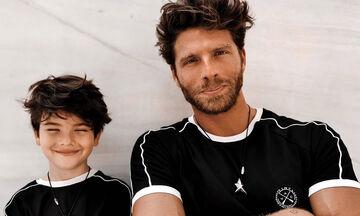 Γιώργος Μανίκας: Έτσι μοιάζει η καθημερινότητα με τον 7 ετών γιο του (pics)