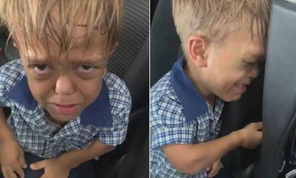 9χρονος που πάσχει από νανισμό σπαράζει για το bullying που δέχεται και συγκινεί το παγκόσμιο κοινό