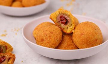 Κροκέτες τυριού γεμιστές με ελιά - Ένα ορεκτικό που θα σας ξετρελάνει