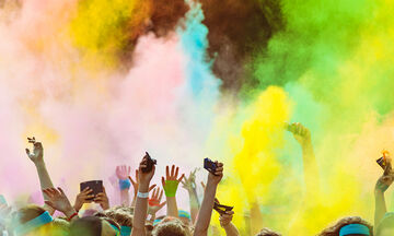 Happy Holy Festival of Colours: Ένα πολύχρωμο event στο πάρκο Τρίτση για μικρούς και μεγάλους