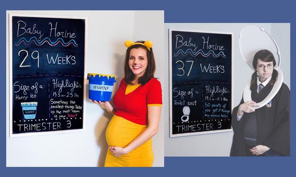 Απίθανο! Τις φωτογραφίες εγκυμοσύνης αυτής της μαμάς θα τις λατρέψεις (pics)