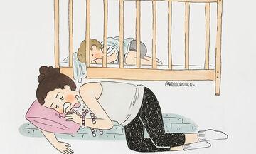 Σκίτσα υμνούν τη μητρότητα με τον πιο όμορφο τρόπο (pics)