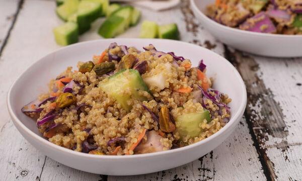 Σαλάτα με κινόα και λαχανικά - Δείτε πώς θα τη φτιάξετε