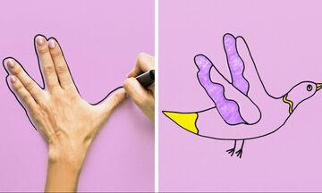 Ζωγραφική για παιδιά: Δέκα tips για υπέροχες & εύκολες ζωγραφιές με ζωάκια (vid)