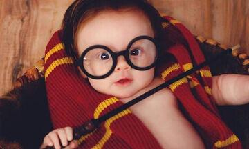 Μωράκι «ντύθηκε» Harry Potter και μας... μάγεψε (pics)