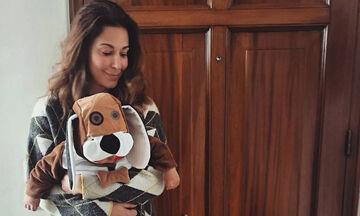 Κατερίνα Παπουτσάκη: Ο γιος της έγινε ενός έτους - Δείτε πώς γιόρτασε τα γενέθλιά του (pics)