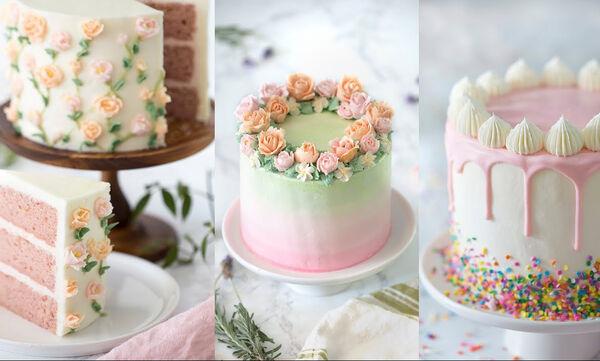 Πρωτότυπες ιδέες για ανοιξιάτικες τούρτες - Δείτε πώς θα πετύχετε την πιο εντυπωσιακή διακόσμηση