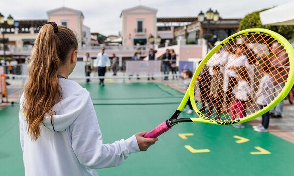 Tennis Οpen Day: Οι Μικροί Τενίστες επιστρέφουν στο εκπτωτικό χωριό McArthurGlen!