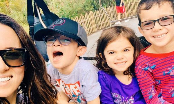 Καλομοίρα : Δείτε πού πήγε με τα τρία της παιδιά - Εντυπωσιακές φωτογραφίες (pics)