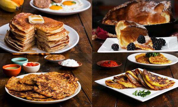 Πρωινό για όλη την οικογένεια: Επτά συνταγές για pancakes από όλον τον κόσμο (vid)