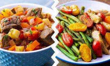 Τι να μαγειρέψετε για βραδινό;  9 συνταγές με λίγες θερμίδες (vid)