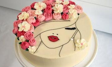 Υπέροχη & ανοιξιάτικη τούρτα για έφηβα κορίτσια - Δείτε πώς θα τη φτιάξετε βήμα βήμα(vid)