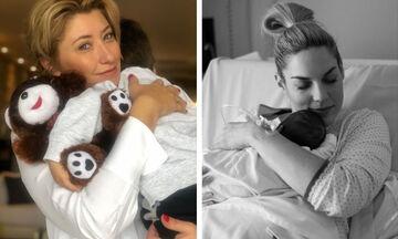 Μαμάδες «τρελαμένες» με τους γιους τους - Ποιες διάσημες Ελληνίδες έχουν αγόρια (pics)