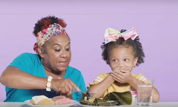 Παιδιά δοκιμάζουν τα αγαπημένα παιδικά φαγητά των γιαγιάδων & των παππούδων τους (vid)