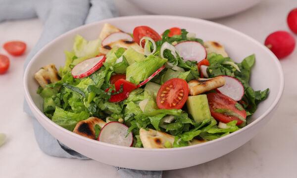 Συνταγή για πεντανόστιμη και θρεπτική Λιβανέζικη σαλάτα (Fattoush)