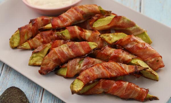 Συνταγή για αβοκάντο τυλιγμένα με μπέικον