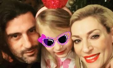 #Μένουμε_Σπίτι: Δεν φαντάζεστε τι ζήτησε η κόρη της Ζέτας Δούκα να κάνει ο μπαμπά της (pics)