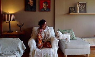 Μαρία Λεκάκη: Η σπάνια φωτογραφία που δημοσίευσε με την κούκλα κόρη της με αφορμή το #Μένουμε_σπίτι