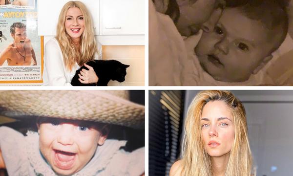 Baby challenge: Έλληνες celebrities μας δείχνουν πώς ήταν στην παιδική τους ηλικία (pics)